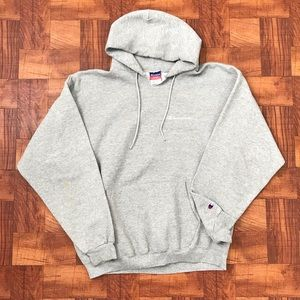 Champion Authentic Spellout Hoodie